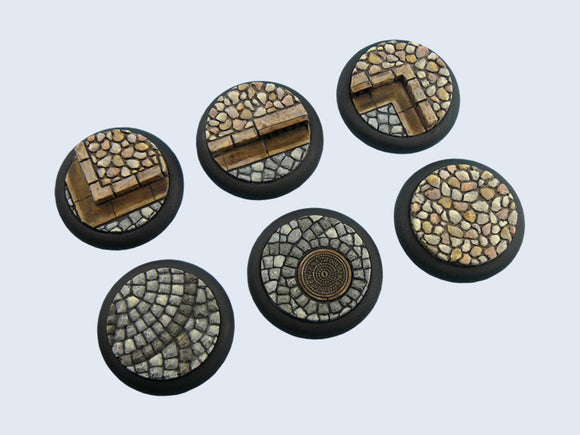 Micro Arts: Cobblestone Bases, WRound 40mm (2)
