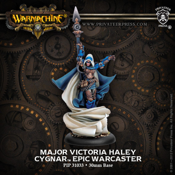 Warmachine Cygnar: Epic Major Victoria Haley