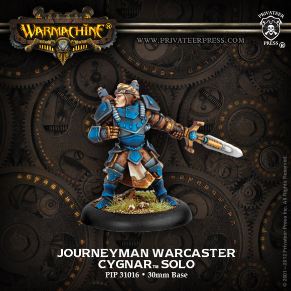Warmachine Cygnar: Journeyman Warcaster