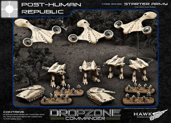 Dropzone Commander: PHR Plastic Starter Army