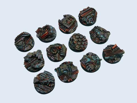 Micro Arts: Derelict Bases, Round 25mm (5)