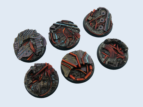 Micro Arts: Derelict Bases, Round 40mm (2)