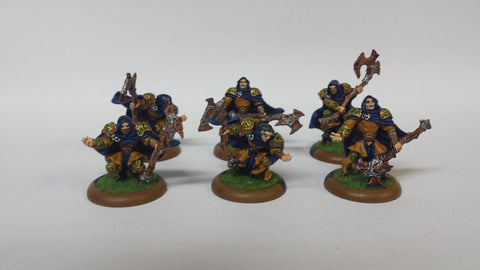 Circle Orboros: Druids of Orboros (unit of 6) (Painted)