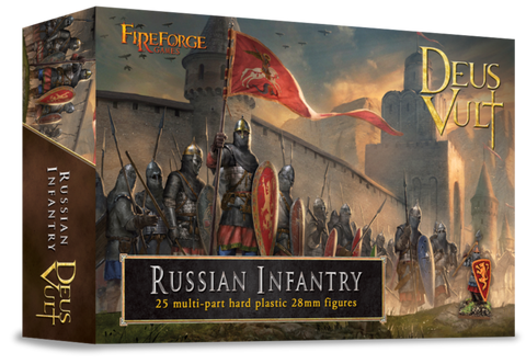 Fireforge Games - Medieval Russian Infantry (Plastic)