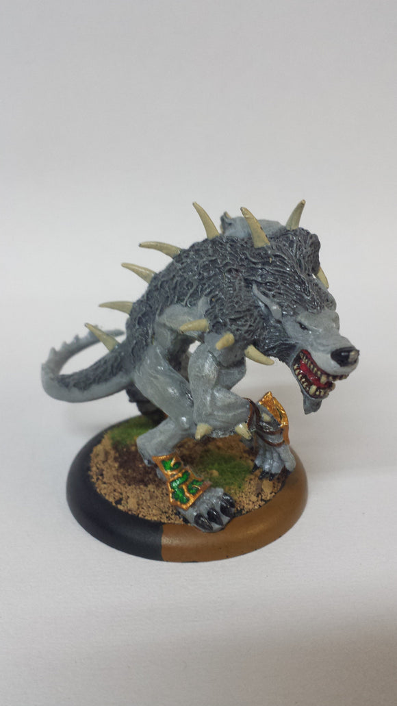 Circle Orboros: Feral Warpwolf (Classic, Painted)