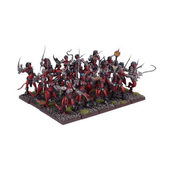 Kings of War: Forces of the Abyss Succubi Regiment
