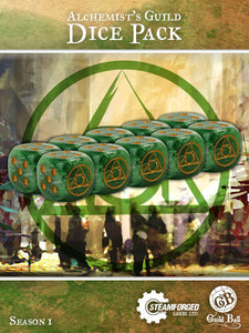 Guild Ball: Alchemist Dice x 10