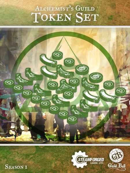 Guild Ball: Alchemist Token Set