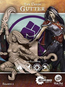 Guild Ball: The Union - Gutter