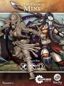 Guild Ball: The Union - Minx
