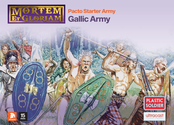 Plastic Soldier Company: Mortem et Gloriam Gallic Pacto Starter Army
