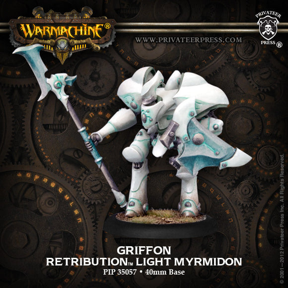Warmachine Retribution: Griffon Light Myrmidon PLASTIC Box