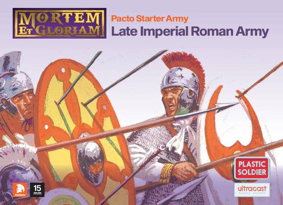 Plastic Soldier Company: Mortem et Gloriam Late Imperial Roman Pacto Starter Army