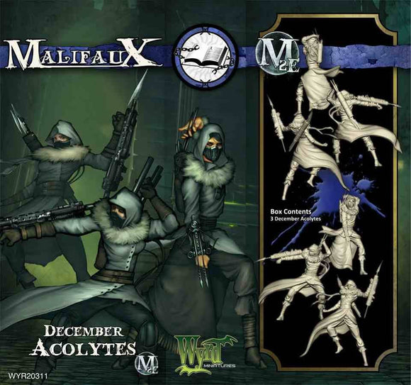 Malifaux Arcanists: December Acolyte