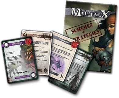 Malifaux Game Accessories: Schemes and Strategies Deck