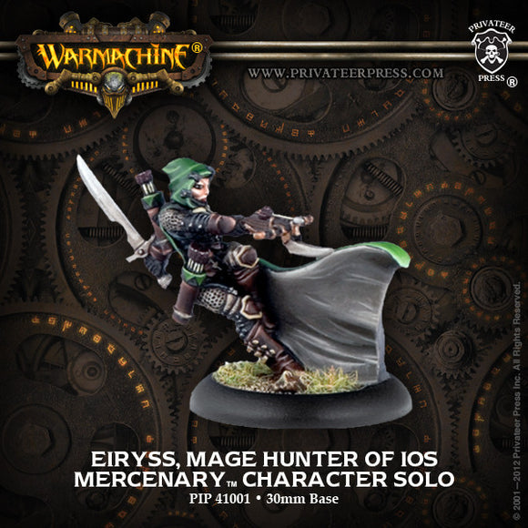 Warmachine Mercenaries: Eiryss, Mage Hunter of Ios