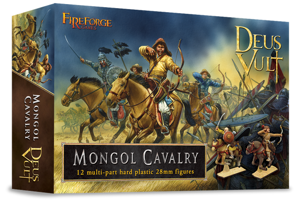 Fireforge Games - Mongol Cavalry (Plastic)