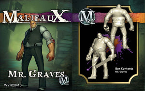 Malifaux Neverborn/Ten Thunders: Mr. Graves