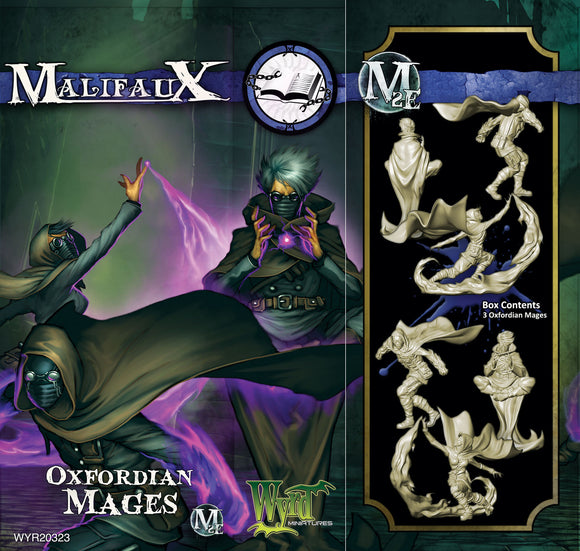 Malifaux Arcanists: Oxfordian Mages (3 Pack)