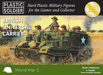 Plastic Soldier Company: 15mm British Universal Carrier with variants