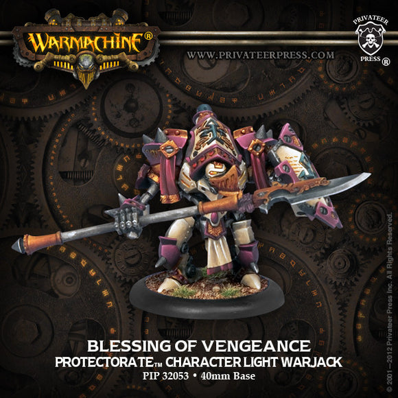 Warmachine Protectorate: Blessing of Vengeance Light Warjack