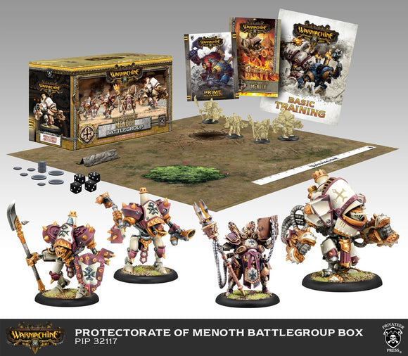 Warmachine Protectorate: Battlegroup Starter PLASTIC BOX