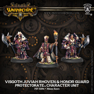 Warmachine Protectorate: Visgoth Rhoven & Exemplar Bodyguards Unit Box