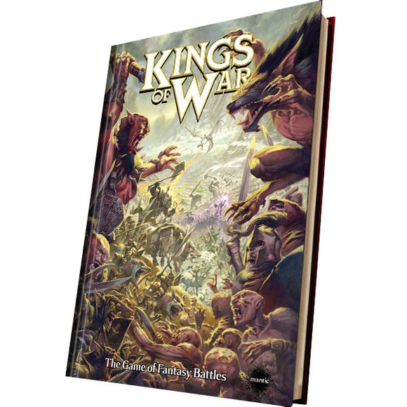 Kings of War: 2nd Edition Hardback Rulebook