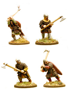 SAGA Anglo-Danish Huscarls (Axes) Hearthguard 1pt