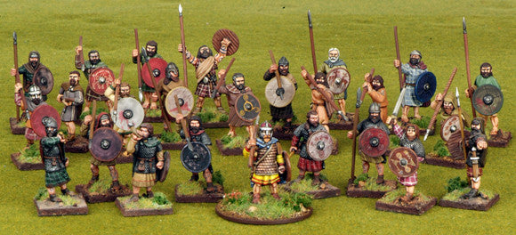 Starter 4 Point Warband - Scots