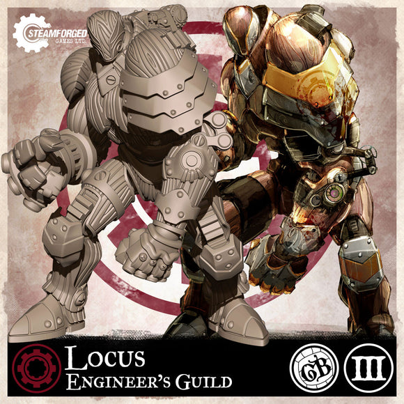 Guild Ball: Engineer's Guild - Locus (Season 3)
