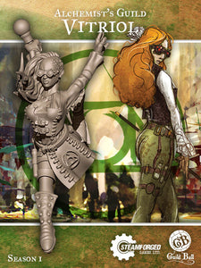 Guild Ball: Alchemist's Guild - Vitriol