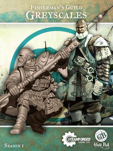 Guild Ball: Fisherman's Guild - Greyscales