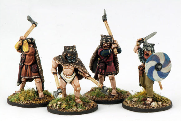 SAGA Viking Berserkers (Hearthguard) (4) 1 point