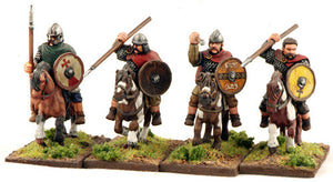 SAGA Mounted Welsh Teulu (Hearthguard) (4) 1 point