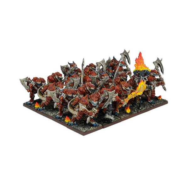Kings of War: Forces of Nature Salamander Regiment