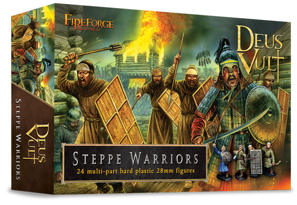 Fireforge Games - Steppe Warriors (Plastic)