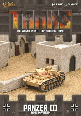 TANKS German Panzer III 5cm Tank Expansion