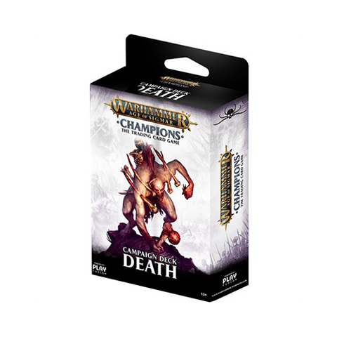 Warhammer Age of Sigmar: Champions Campaign Death Deck