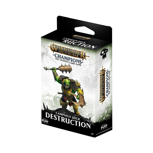 Warhammer Age of Sigmar: Champions Campaign Destruction Deck