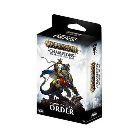 Warhammer Age of Sigmar: Champions Campaign Order Deck