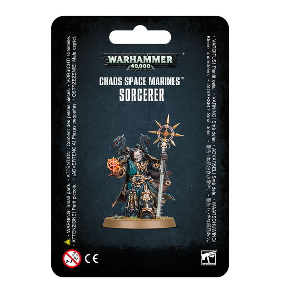 Warhammer 40K: Chaos Space Marines Sorcerer