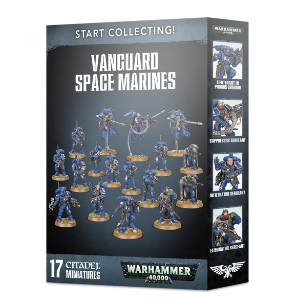 Warhammer 40K: Start Collecting Vanguard Space Marines