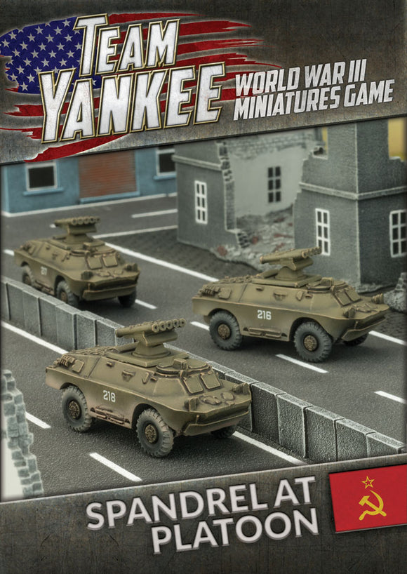 Team Yankee: Spandrel Anti-tank Platoon (x3)