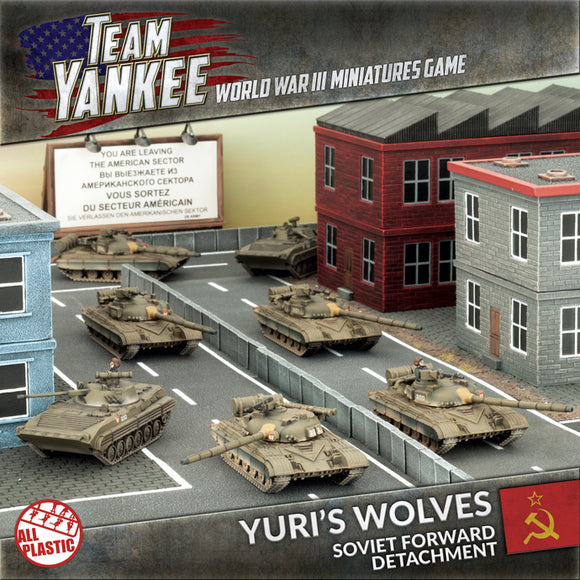 Team Yankee: Yuri's Wolves (Plastic Army Deal)