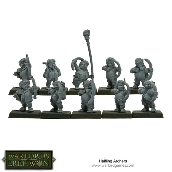 Warlords of Erehwon: Halfling Archers