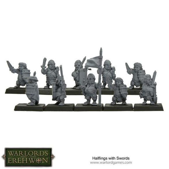 Warlords of Erehwon: Halflings with Swords