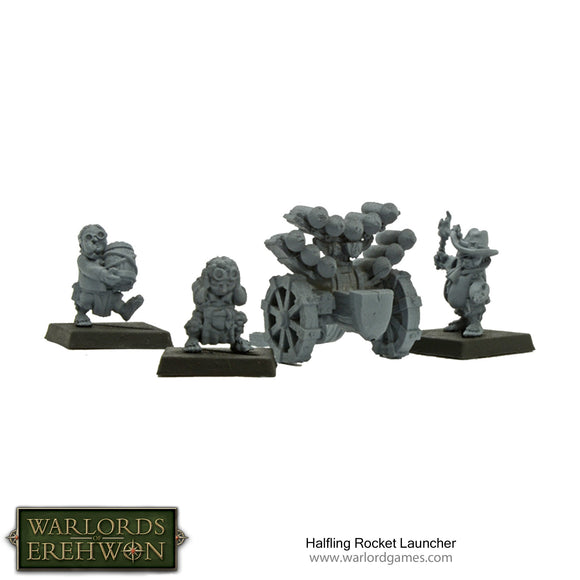 Warlords of Erehwon: Halfling Rocket Launcher