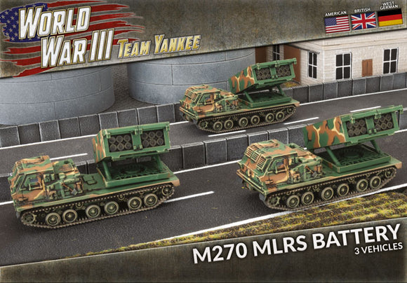 Team Yankee: M270 MLRS Battery