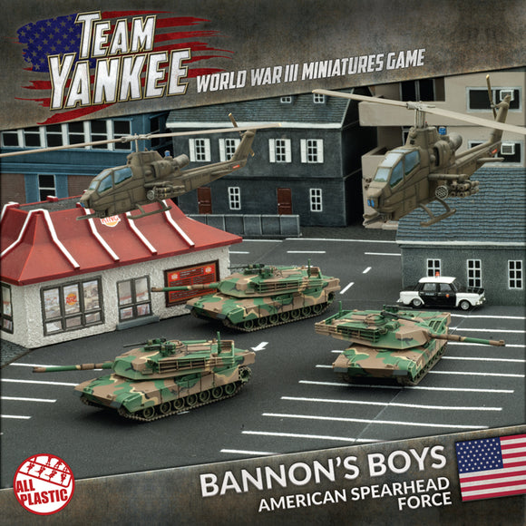 Team Yankee: Bannon's Boys (Plastic Army Deal) - 2017